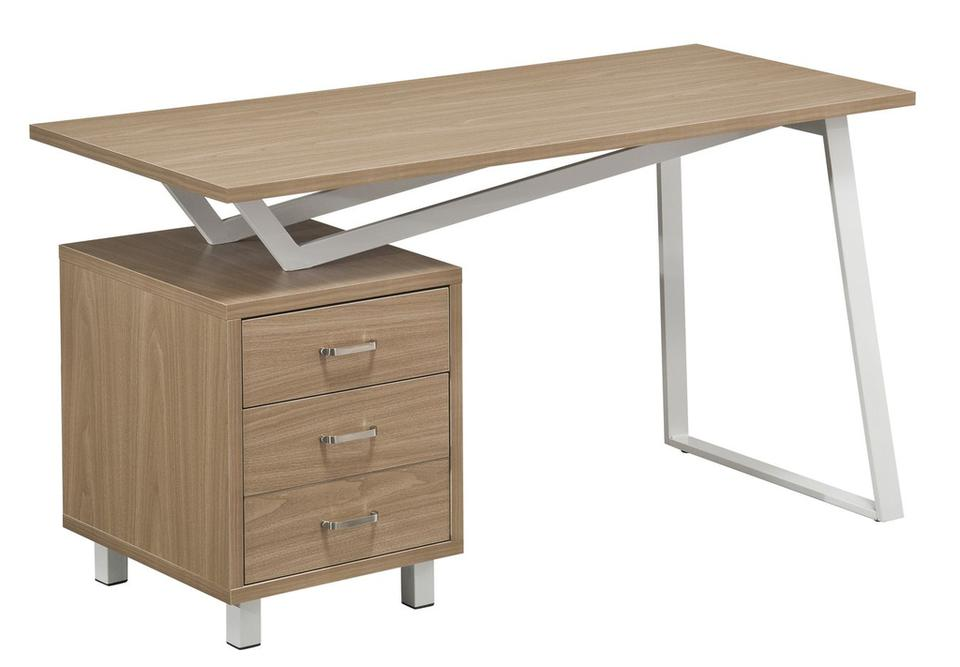 Hanson Oak & White Computer Desk