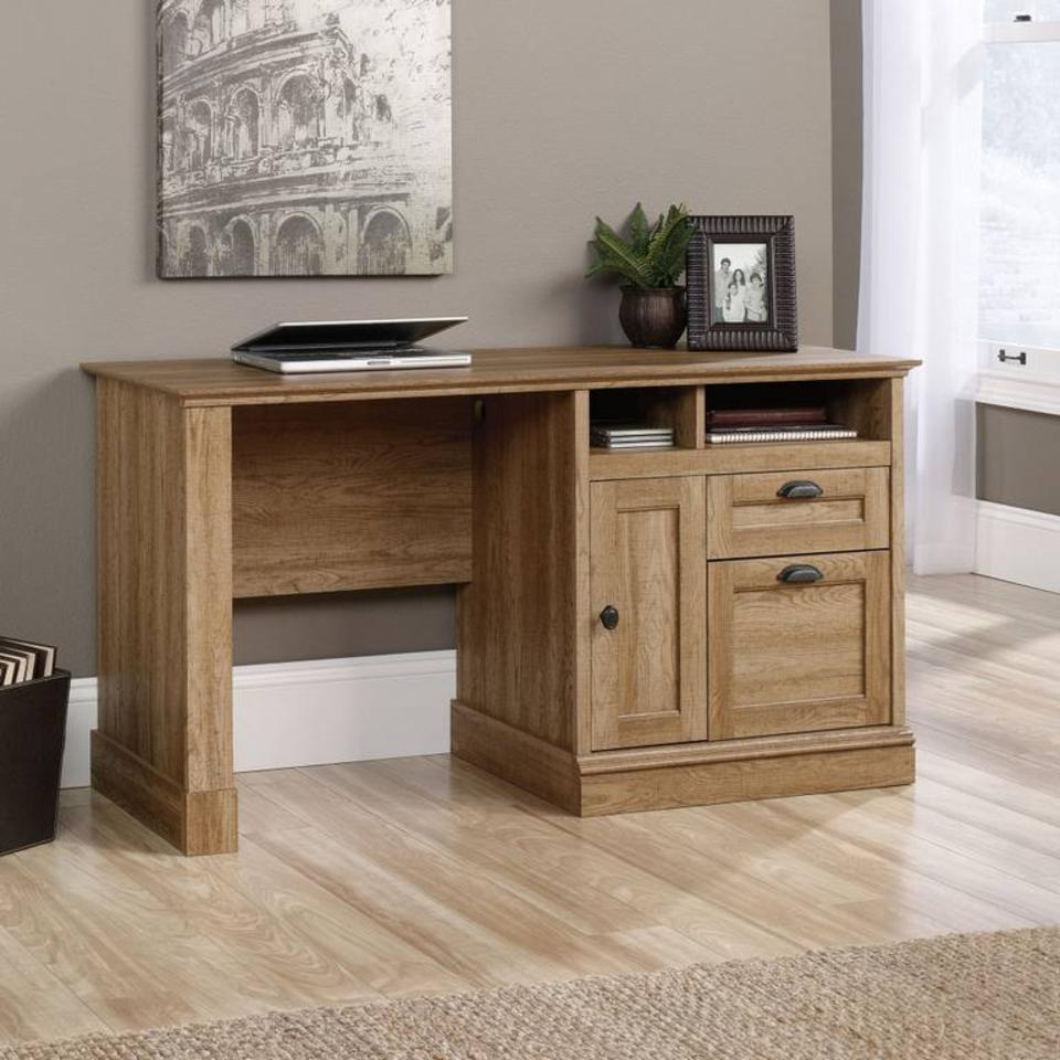 Teknika Scribed Oak Storage Desk