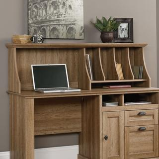 Teknika Optional Hutch for Scribed Oak Storage Desk
