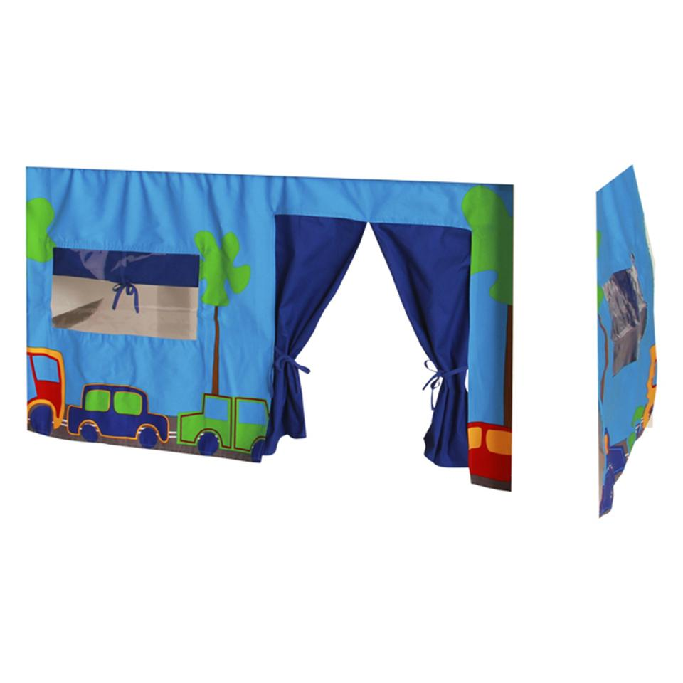 KIDS World Print Tent Blue