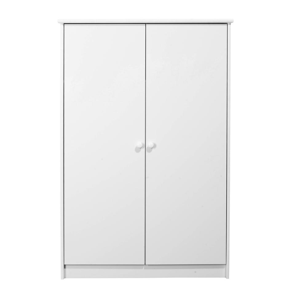 KIDS World 2 Door Fitted Wardrobe White