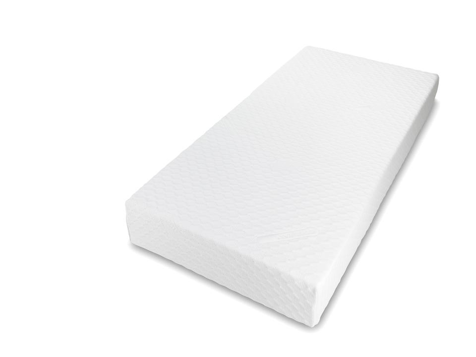 Gold Memory foam mattress Including Zipped washable cover - 900 x 1900 x 200 mm (3' x 6'3