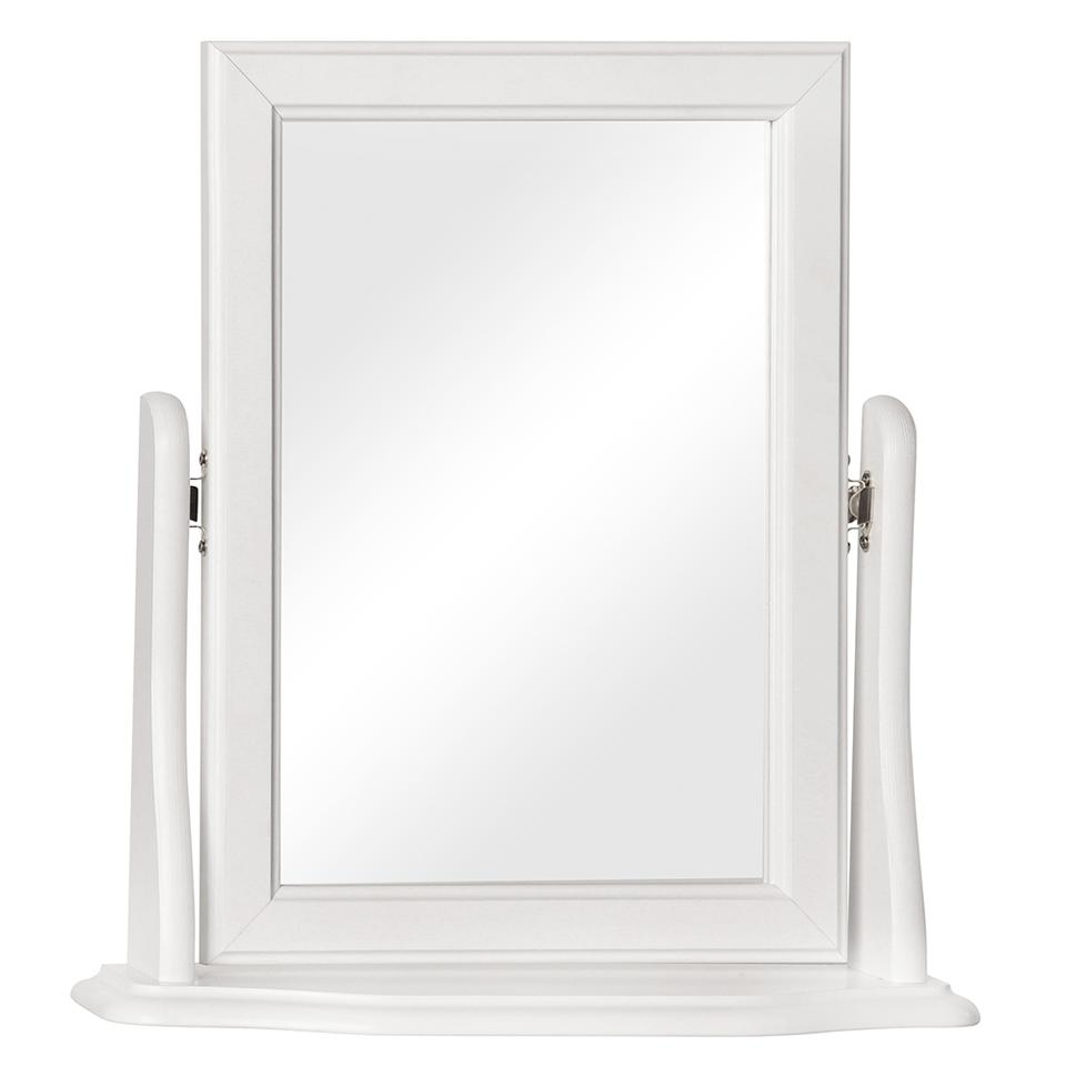 Copenhagen Mirror in Pine/White