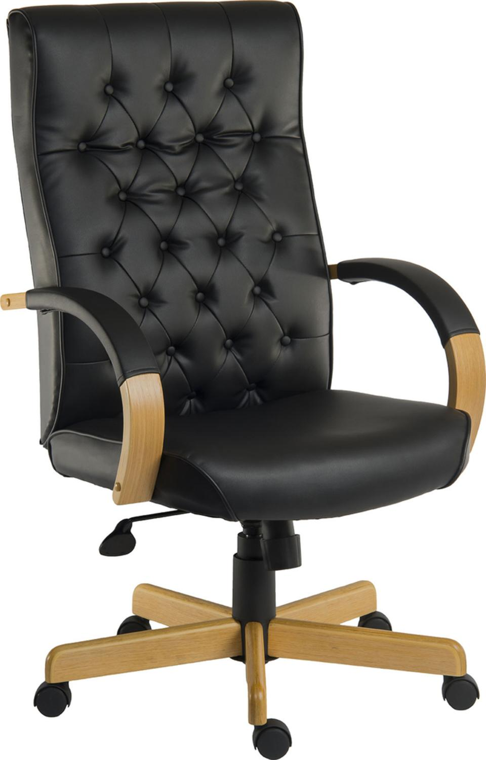 Warwick Noir Traditional Executive Chair