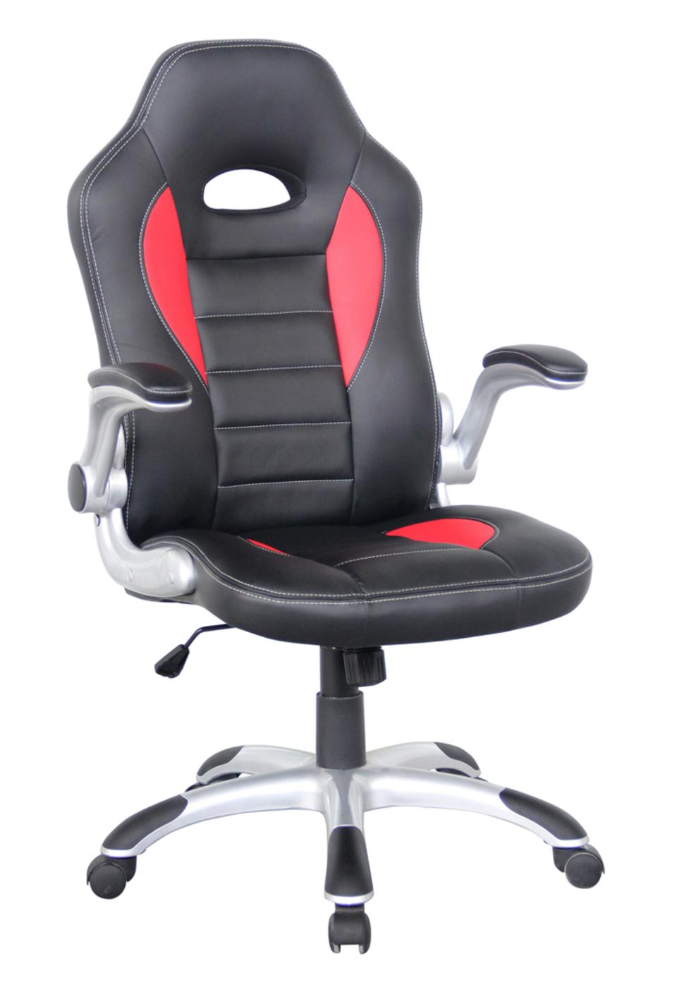 Palmer Hi Back Faux Leather Racing Chair
