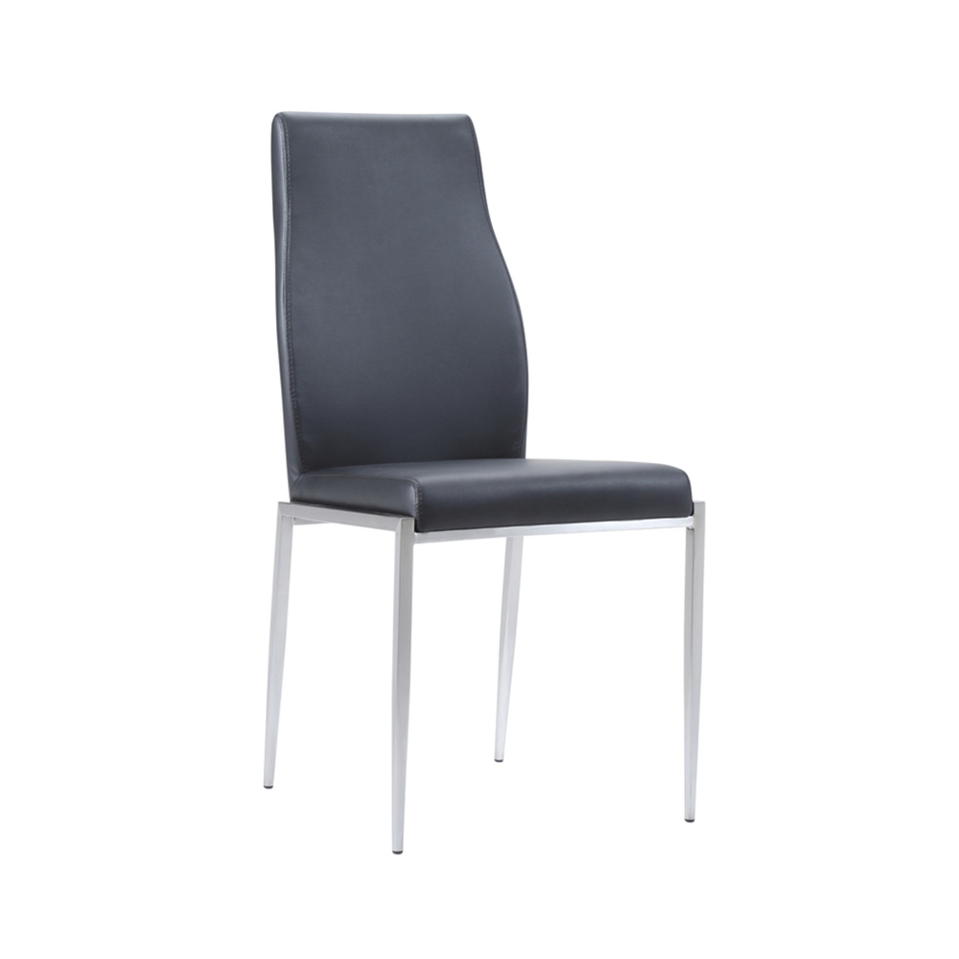 Awesome Milan Dining Chair Faux Leather Pk2 Sos Direct Home Creativecarmelina Interior Chair Design Creativecarmelinacom
