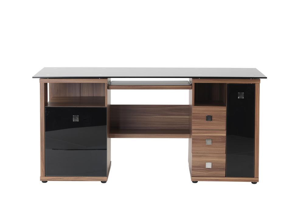 Vogue Walnut Effect Executive Desk