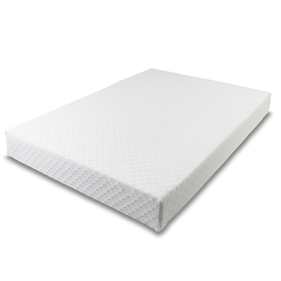 Gold Memory foam mattress Including Zipped washable cover - 1800 x 2000 x 200 (6' x 6'6